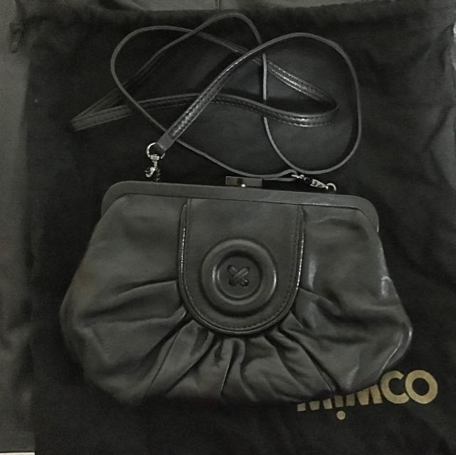 Mimco Crossbody Leather Pouch