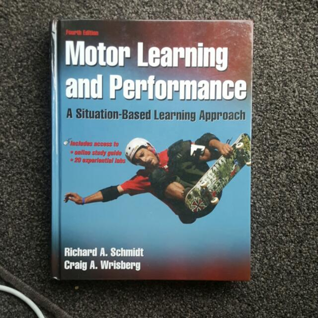 Motor Learning And Performance Textbook