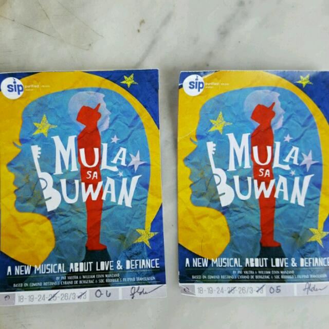 MULA SA BUWAN (Discounted Tickets for Musical on FEB.25)