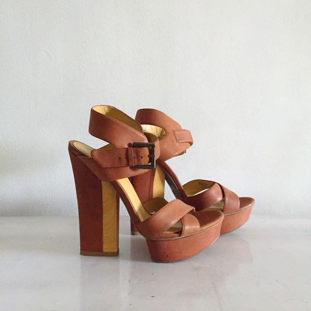 Nine West Heeled Sandals SIZE US6