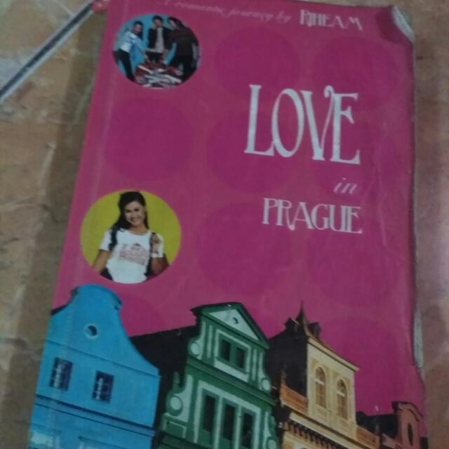Novel Love In Prague