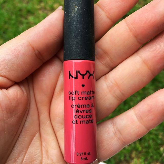 REPRICED - Nyx Soft Matte Lip Cream