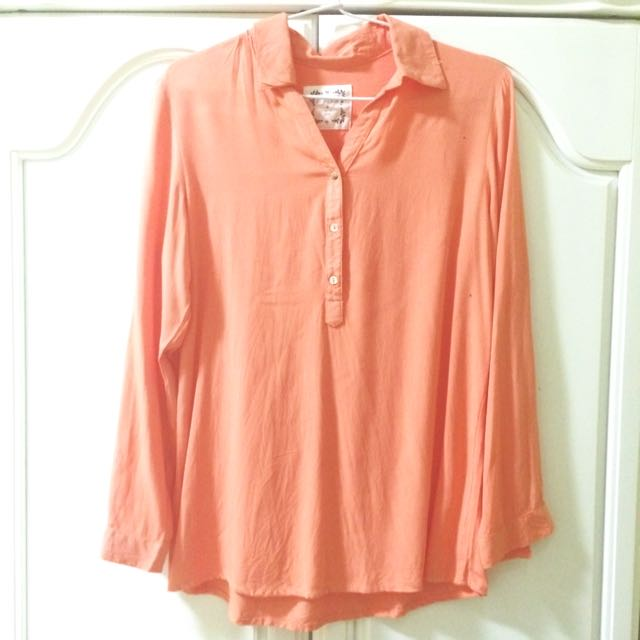 Orange Shirt Preloved