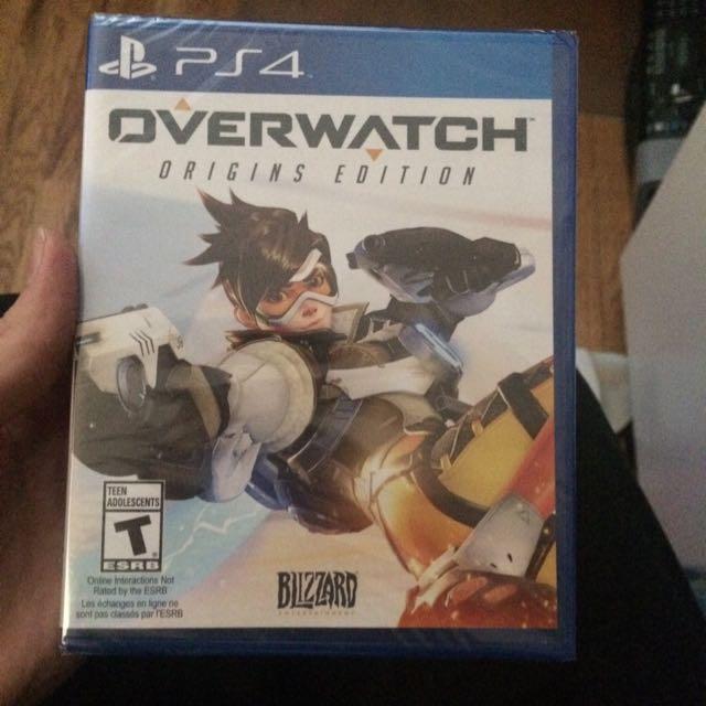 Overwatch ps4 unopened