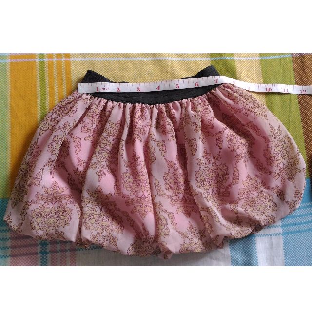 Pre-loved / Used Girl Peach Balloon Skirt