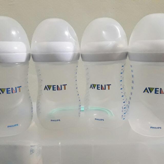 Preloved Avent Feeding Bottles