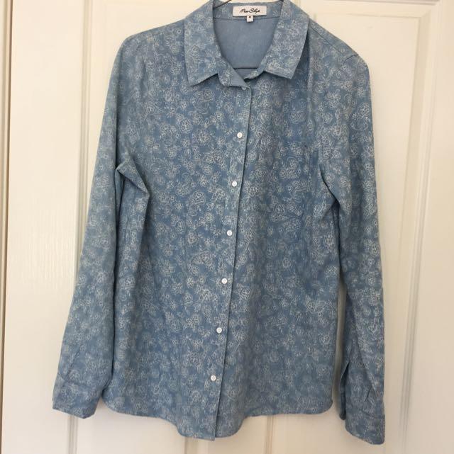 Printed Miss Shop Shirt