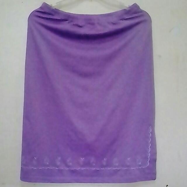 Purple Le France Skirt