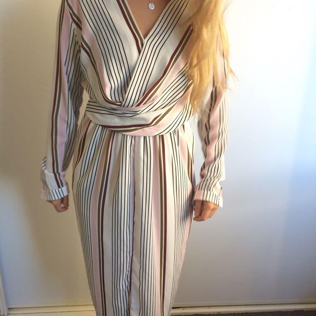 Sheike Striped Dress