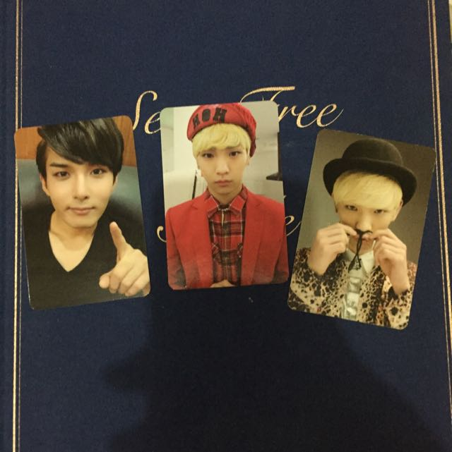 Shinee and Super Junior Official Photocard