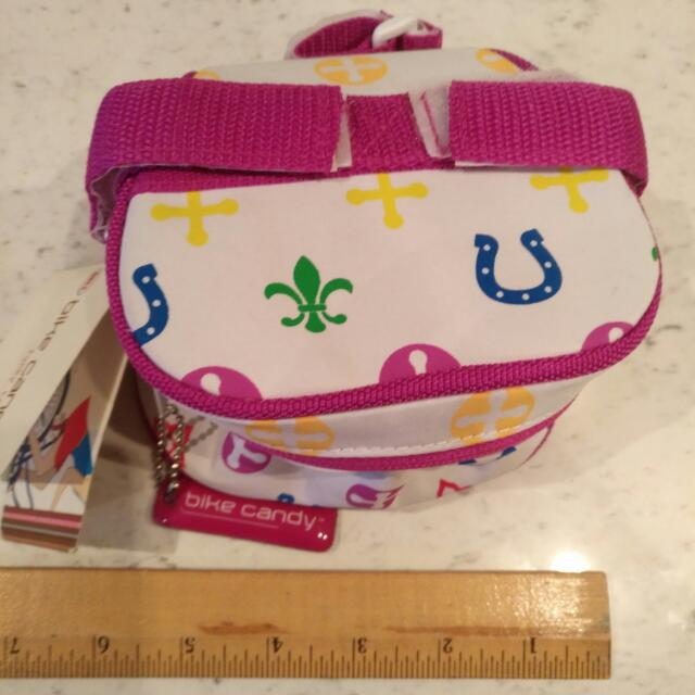 BNWT Small Bike Bag, Funky Trunk By Bell