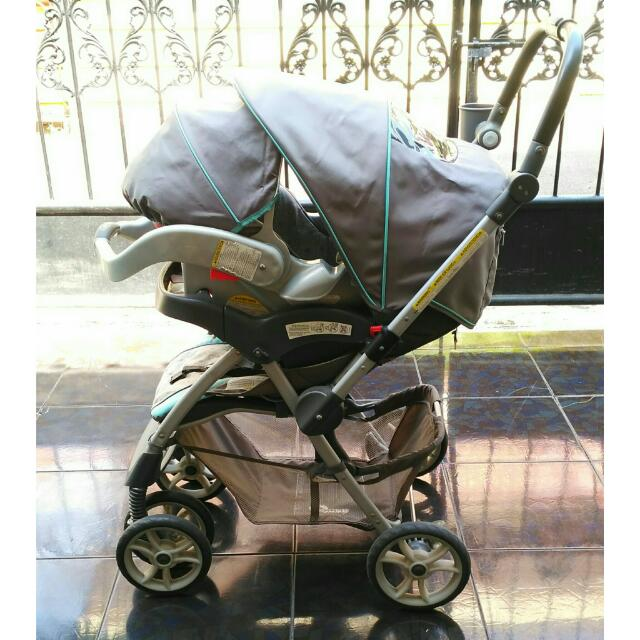 Stroller With Car Seat Graco Alano