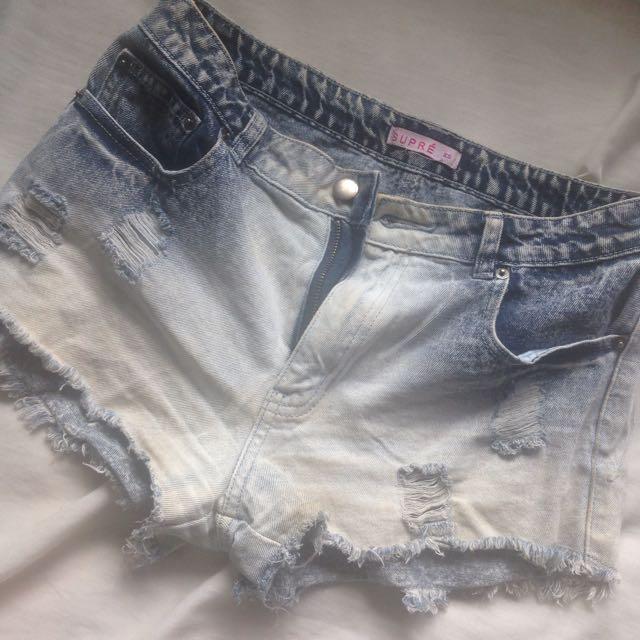 Suprè Shorts Size XS-S