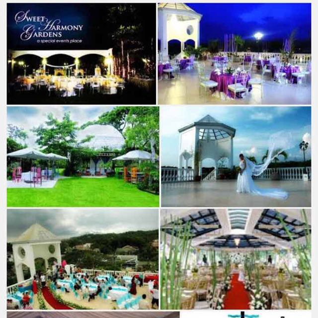 Sweet Harmony Gardens FREE VENUE VOUCHER Tickets Vouchers Gift Cards On Carousell