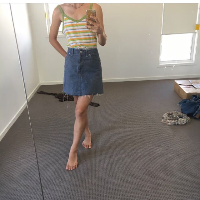 Vintage As Levi's Skirt