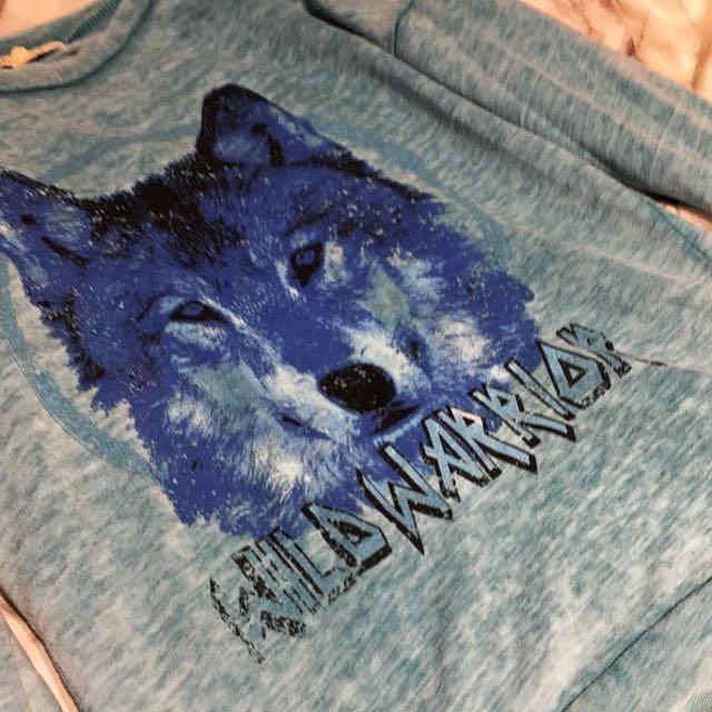 Warrior Wolf Shirt