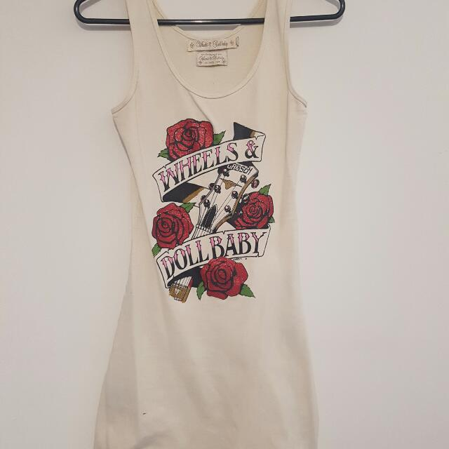 Wheels And Dollbaby Tank Dress