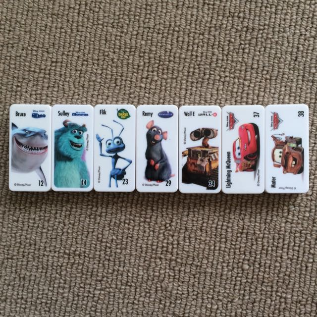 Woolworth Domino Disney Collectibles