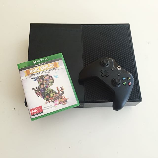 Xbox One 500GB (plus Accessories And Game)