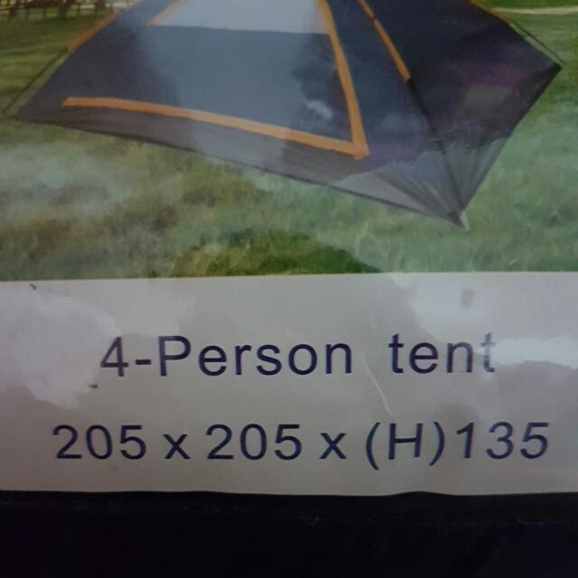 Xtreme - Mono C&ing 4-person Tent Everything Else Others on Carousell & Xtreme - Mono Camping 4-person Tent Everything Else Others on ...
