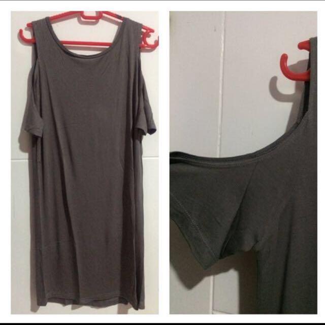 Zara dress off shoulder