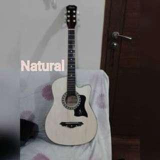 Davis Acoustic Guitar with FREE Capo