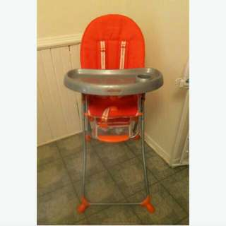 Baby High-Set Chair - Preloved