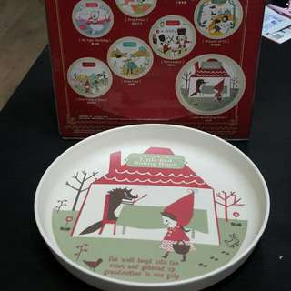 7-11 Little Red Riding Hood Plate 小紅帽碟 #MAYSALE