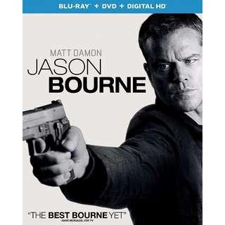 Jason Bourne (Blu-ray + DVD + Digital HD)