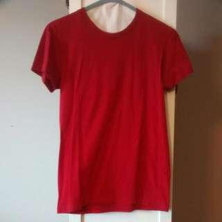 American Apparel Red T-Shirt