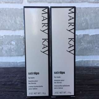 Mary Kay Satin Lips Set - Balm And Mask