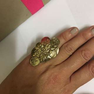 Luw luv By Erin Wasson Saints Ring
