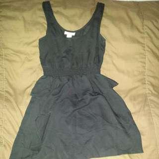 Black Size XS/S Summer Dress