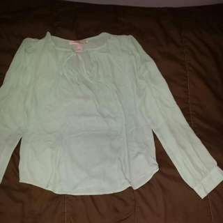 Turquoise Size Large Forever21 Top