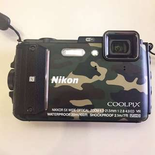 Nikon COOLPIX AW130 Army Limited Like new