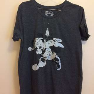 Mickey & Minnie Christmas Shirt (Small)