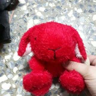 紅色天使小兔
