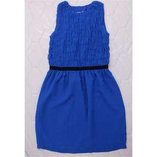 Preloved Korz Blue Sheath Dress