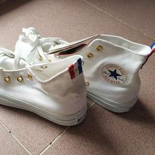 全白Converse