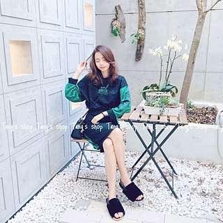 韓風半身裙套裝