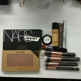 Brand New And Preloved Makeup & Tools