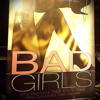 BAD GIRLS - CAROLE LIEBERMAN M.D. BOOK FOR 8$