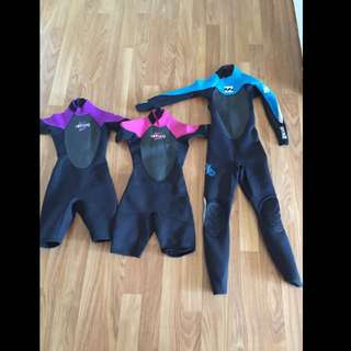 Wetsuits Spring Or Steamer