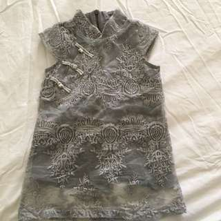 Girls Lace Cheongsam Approx 18m