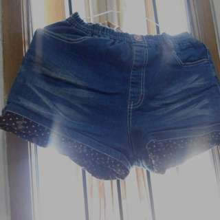 Hot Pants Jeans wrn navy (import)