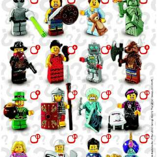 Lego Collectable Minifigures Series 6 9 and 10