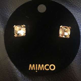 Mimco Mini Jewel Stud Rose Gold