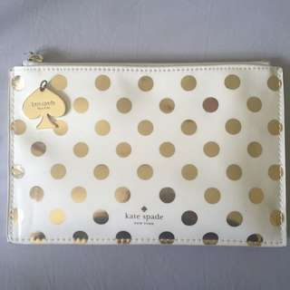 Kate Spade New York Pencil Pouch with contents