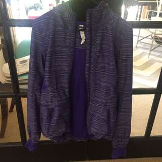 Lu Lu Lemon Purple Sports Jacket