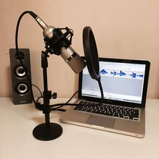 Home Recording Microphone Set
